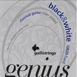 Gallistrings GR20 Genius B/W
