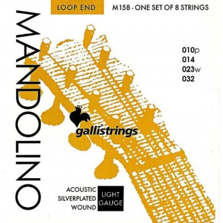Gallistrings Mandolin M158 Loop End