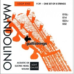 Gallistrings Mandolin V39 Loop End