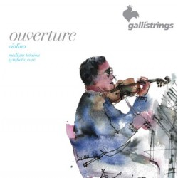 Gallistrings Ouverture Violin OV40S Medium Tension