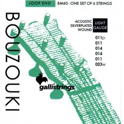 Gallistrings Bouzouki BM060 Loop End