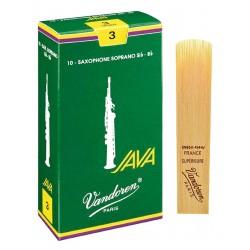 Vandoren Grøn Java Alt Sax 10 blade, hårdhed 2