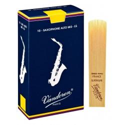 Vandoren Blå Classic Alt Sax 10 blade hårdhed 2,5