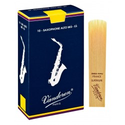 Vandoren Blue Classic , 10 reeds, Alto sax, strength 3