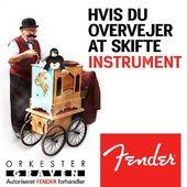 Altid skarpe priser på alle produkter fra Fender - Vi matcher Tyskeren og alle andre! ❤Se vores voksende udvalg på Orkestergraven.dk#Orkestergraven #Fender #Aarhus
