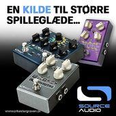 Find KILDEN til din EGEN lyd... SOURCE AUDIO kan være et af svarene! Prøv pedalerne i butikken på Søren Frichs Vej i Aarhus ✌
