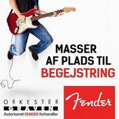 Festivalsæsonen er i fuld gang, og det fejrer vi selvfølgelig med manér! 🔥I den anledning har vi fået en gigantisk sending Fender-varer hjem, som kalder på at komme ud og spille under åben himmel ⛅️✨ Se vores alle vores fede, nye FENDER-produkter på Orkestergraven.dk
