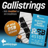 Husk at vi altid har velklingende bas- og guitarstrenge af ypperste kvalitet fra Gallistrings på lager i Orkestergraven! 💫🐓 – Once you go Galli, you never go back 😉#Orkestergraven #gallistrings #guitarstrings #bassstrings