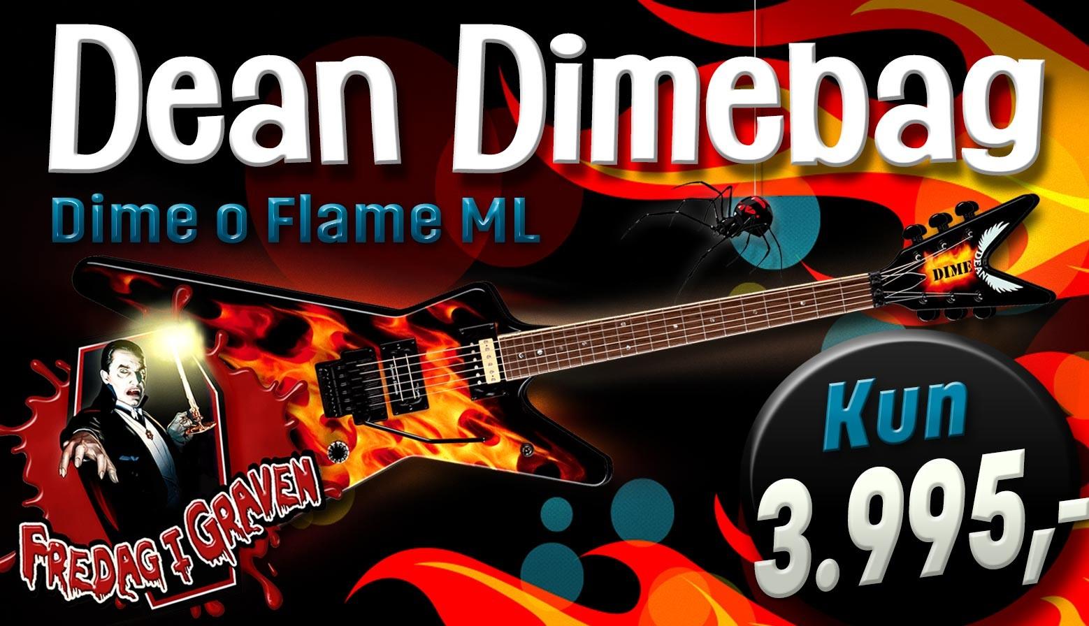 Dean o flame banner