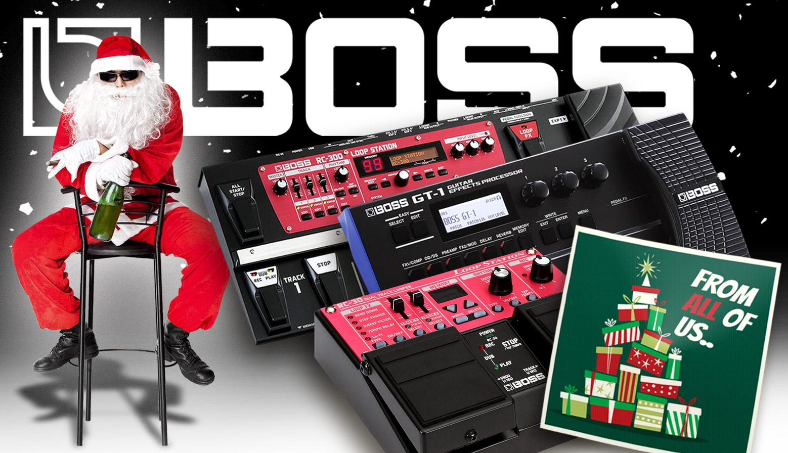 Boss X-mas slider