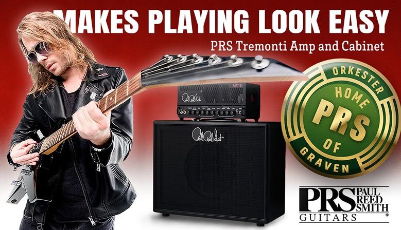 PRS Tremonti Amp Banner