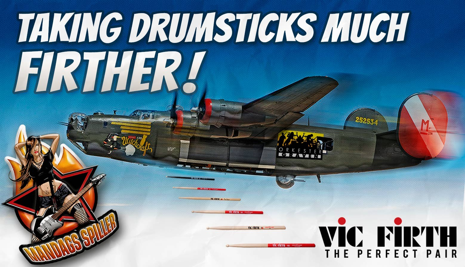 Vic Firth Bomber