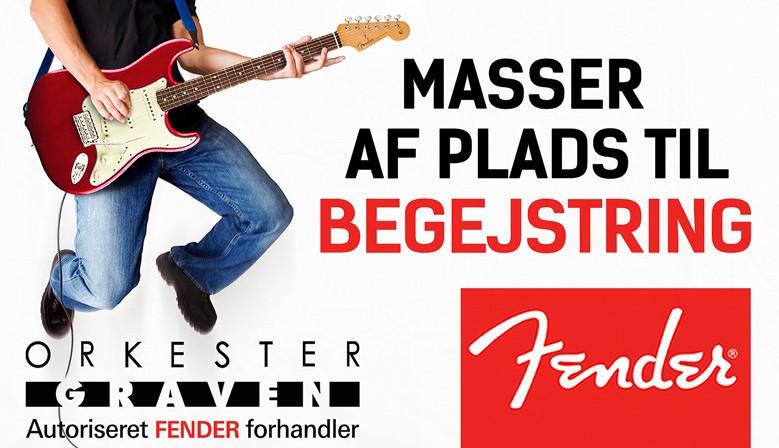Fender banner