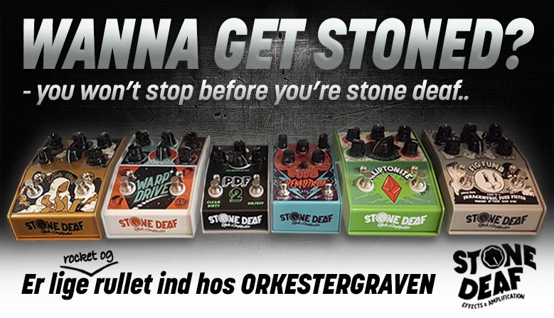 Stone Deaf pedals