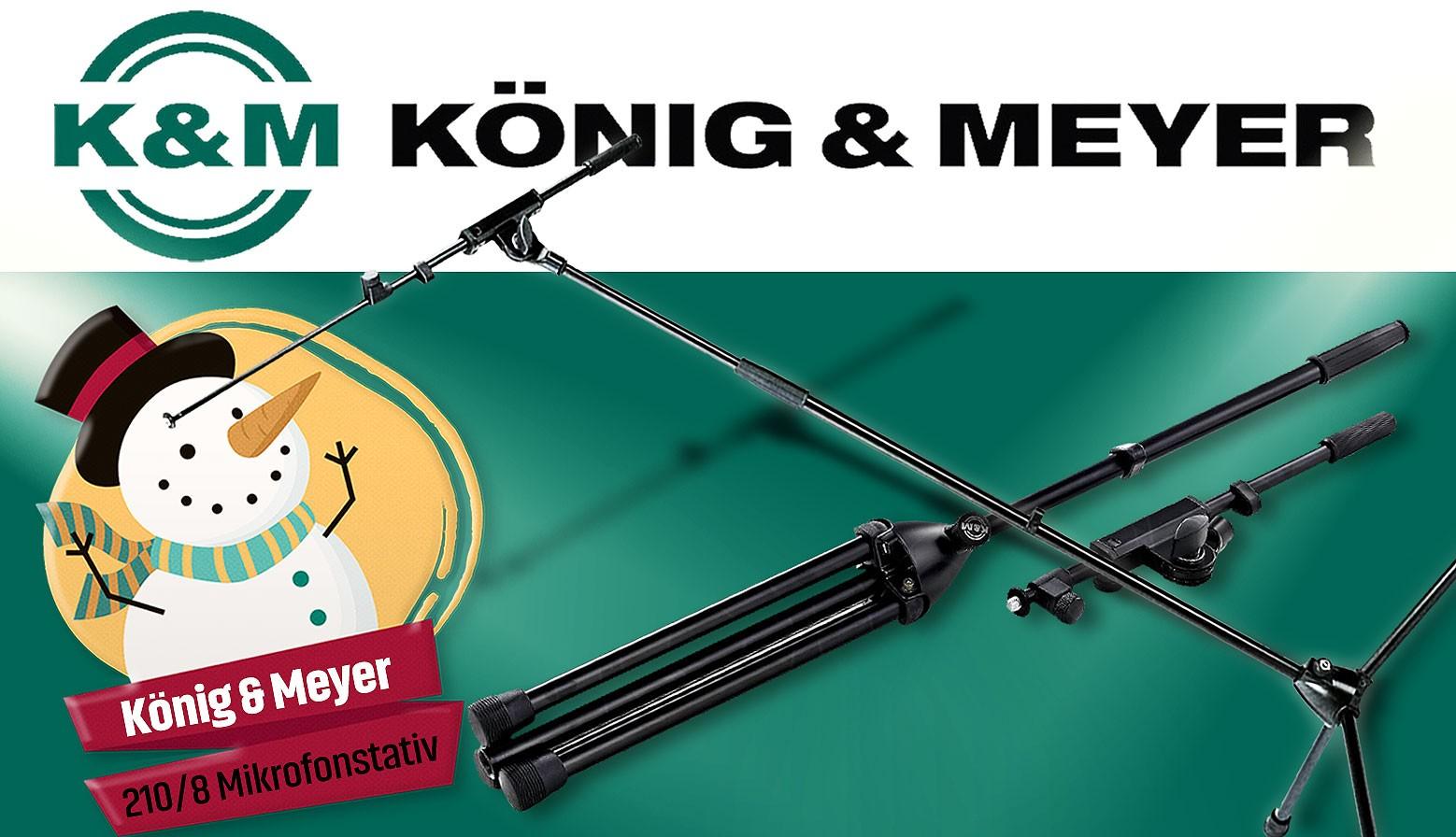 K&M Mikrofonstativ