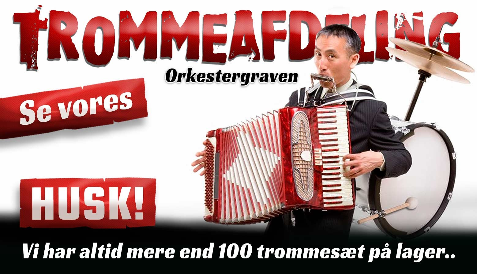 Trommeafd banner