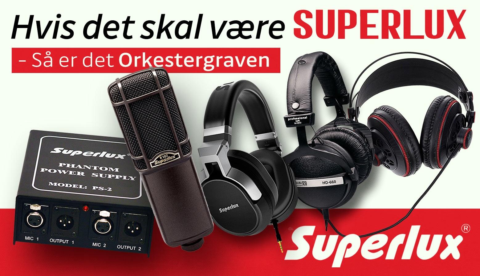 Superlux banner